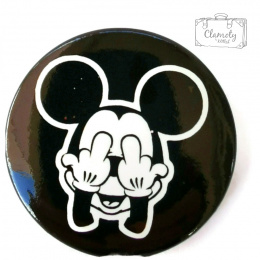 MOUSE MOUSE BUTTON FINGERS EYES WHITE / BLACK